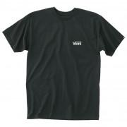 Tricou bărbați Vans MN Left Chest Logo Tee negru