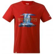 Tricou bărbați Bergans Foss Tee roșu red