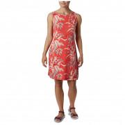 Dámské šaty s potiskem Columbia Chill River Printed Dress portocaliu