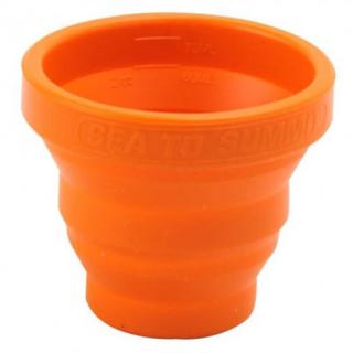 Păhărel pliabil Sea to Summit X-Shot portocaliu orange