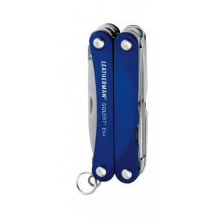 Multitool Leatherman Squirt ES4 albastru