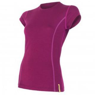 Tricou femei Sensor  Merino Wool Active mânecă scurtă violet lila