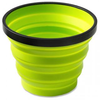 Ceașcă pliabilă Sea to Summit X-Cup verde deschis lime