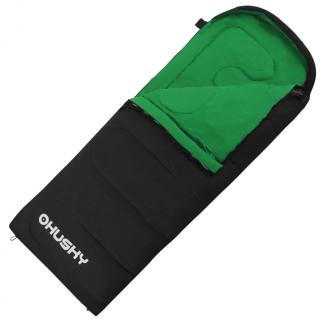 Sac de dormit Husky Gala 0°C negru/verde