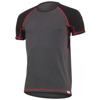 Pánské funkční triko Lasting Oto šedá/červená gri/roșu