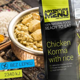 Adventure Menu Pui Korma cu orez 400 g