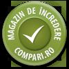 99% din clienți recomandă magazinul la Compari/Arukereso